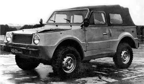 Образец второй серии ВАЗ-2122 на шинах ВлИ-6.